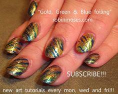Nail-art by Robin Moses: October 2011