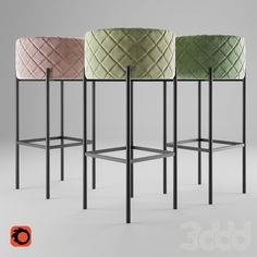 3d модели: Стулья - Барный стул Arm Chair Panama Bar