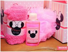 Minnie Mouse birthday party favors! See more party ideas at CatchMyParty.com!