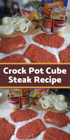 Crock Pot Cube Steak I think my love for my slow cooker is pretty well known . - Crock Pot Cube Steak I think my love for my slow cooker is pretty well known (well, at least to - Chopped Steak Recipes, Cube Steak Recipes, Slow Cooker Recipes, Ww Recipes, Crockpot Recipes, Recipies, Dinner Recipes, Healthy Recipes, Cube Steak And Gravy