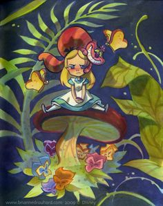 Alice in Wonderbreadland by potatofarmgirl.deviantart.com on @deviantART