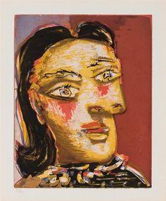 Pablo Picasso, Tete de Femme no. 4, Portrait of Dora Maar