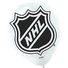 Amscan National Hockey League Printed Latex NHL Party Balloons, 12'. #Amscan #National #Hockey #League #Printed #Latex #Party #Balloons,