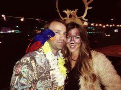Deer costume and Jimmy Buffet fan #deer #antlers #parrothead
