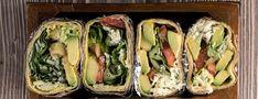 Λαχταριστό wrap με αβοκάντο και τυρί Cheese Wrap, Nutrition Chart, Processed Sugar, Good Fats, Yummy Snacks, Raw Food Recipes, Fresh Rolls, Street Food, Avocado