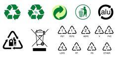 ¿Conoces todos los símbolos del reciclaje?