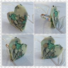 Origami Paper Heart ring by SLHJewellery on Etsy, £8.00
