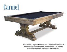 Presidential Billiards Carmel Pool Table