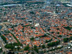 Flying over Haarlem - Haarlem, Noord-Holland
