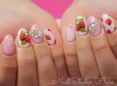 Strawberry Nails~