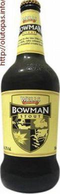Charles Wells ltd. (Young) - Wells Bowman Stout 5,2% pullo