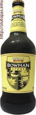 Charles Wells ltd. (Young) - Wells Bowman Stout 5,2% pullo