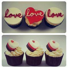 Valentines Cupcakes - Beanie's Bakery
