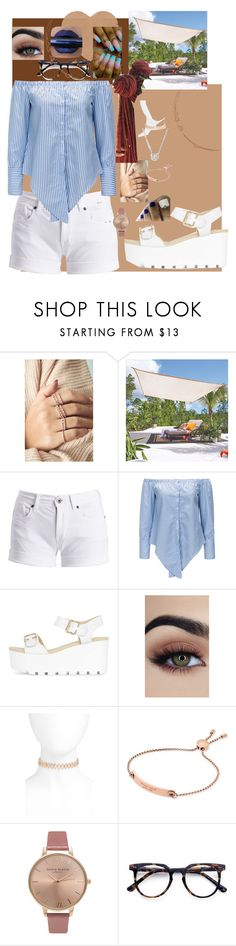 """""""Sunnation."""" by courtney-claire on Polyvore featuring Improvements, Barbour International, Rebecca Minkoff, Michael Kors, Olivia Burton, Ace and Nadri"""