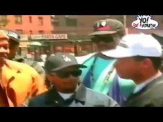Eazy-E checked DJ Yella - YouTube
