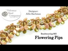 Seed bead jewelry Flowering Pips Beadweaving Design ~ Seed Bead Tutorials Discovred by : Linda Linebaugh Beaded Jewelry Patterns, Bracelet Patterns, Bracelet Designs, Beading Patterns, Jewelry Making Tutorials, Beading Tutorials, Jewelry Making Supplies, Seed Bead Jewelry, Beading Techniques