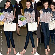 #mirandakerr #vs #angel #model #victoriassecret #floral #flower #skinnyjeans #style #fashion #instastyle #instafashion #beautiful #ootd #hot #skinny #teenager #inspiration #fashionista #fashionicon  #styleicon #perfection #celebrity #streetstyle #denim #hipster #streetfashion #classy #love #weheartit... - Celebrity Fashion