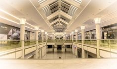 The new intu Metrocentre Platinum Mall. Photo taken by Alan Kidd a member of the intu Metrocentre service delivery team. I think he is in the wrong job!