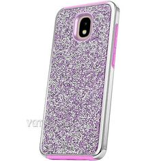 For Samsung Galaxy J3 2018 Orbit Aura Star Bling Glitter Shockproof Case  Cover 198fb237380