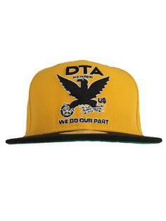 DTA Rogue Status Membird 2 Snapback Hat - Gold Black  33.00  dta   roguestatus f8bbff9b089e