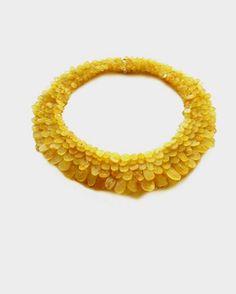 Karin Seufert - Schmuckdesign - Berlin: necklace, silver and amber