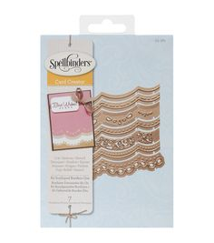 Spellbinders Borderabilities Card Creator Dies-A2 Scalloped Borders 1