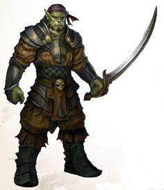 https://www.google.co.uk/search?q=half-orc assassin