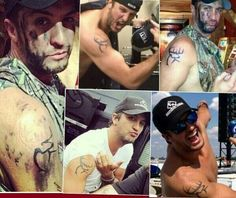 Country man candy on pinterest jason aldean country for Buck commander tattoo