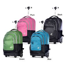 2016 laptop trolley backpack with wheels hiking trolley backpack ...