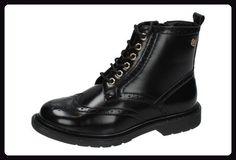 XTI , Damen Booties , schwarz - Schwarz - Größe: 40 - Stiefel für frauen