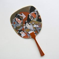 Uchiwa-fan Greeting Card-Four Ukiyo-e Kabuki Actors - Modern Hand Held Fan, Actors, Bedroom Decor, Greeting Cards, Japanese, Prints, Fans, Modern, Wedding
