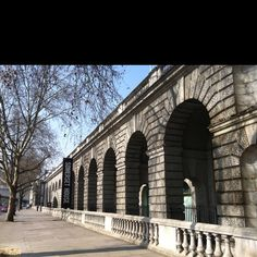 Somerset House on Embankment