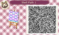"""starstaciestar: """" Cute, pastel, shell path! Perfect for mermaid and ocean themes. Enjoy! Part 1 of 2 """""""