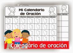 Calendario de oración
