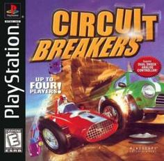 Circuit Breakers on PlayStation  - loved working on this with the Williamson Bros. at Supersonic Games in Leamington.