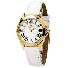 Invicta 15936 Women's Watch Special Edition 5 Interchangeable Leather Bands Gold Case