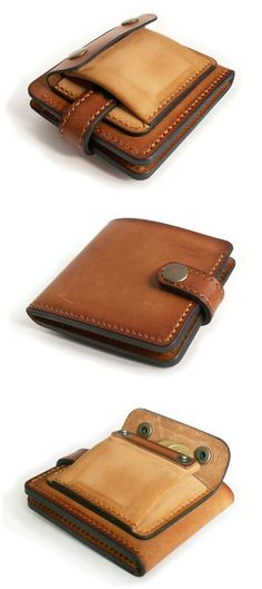 Stylish Leather bi-fold Wallet for Men