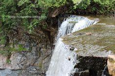 Indian Falls Near Owen Sound, Ontario - just one of many amazing waterfalls on the Niagara Escarpment.