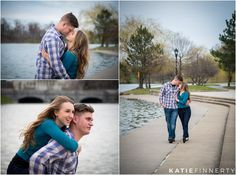 Elmwood Ave. in Buffalo, NY Engagement Session Photography by Katie Finnerty Photography
