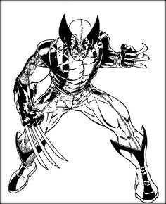printable wolverine coloring pages for kids cool2bkids.html