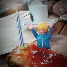My birthday! i love cheesecake!