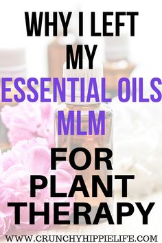 I used to think high quality essential oils were only in MLM, but then I found Plant Therapy!