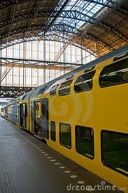 Amsterdam Centraal...LOVE this train station!