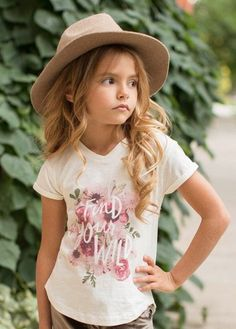 Wild Tee for Girls