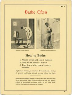 From a vintage physique magazine. Jut remember to bathe often! http://www.bijouworld.com/Vintage-Gay-Physique-Magazines.html