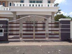Home Gate Design, Gate Wall Design, House Main Gates Design, Front Gate Design, Main Door Design, Railing Design, Steel Grill Design, Steel Gate Design, Window Grill Design Modern