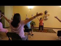 1 Hour Energizing Chair Yoga to Infuse Pep Into Your Day! With Sherry Zak Morris - YouTube