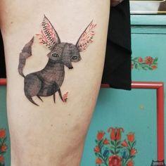 www.instagram.com... #tattoo #tatuaz #tattoowork #project #design #ink #inked #graphic #tattuaggio #btattooing #tattuaje #illustration #татуировка #тату #krakow #berlin #wroclaw #warszawa #prague #praha #tetovani #tätowierung #tatuajes #panakota #littletattoos #fox #fenek #lis