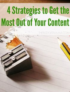 Making Your Content King. 4 Strategies to Get the Most Out of Your Content Business Help, Creative Business, Online Business, How To Start A Blog, How To Make, Build A Blog, Make Money Blogging, Blogging Ideas, Tips & Tricks