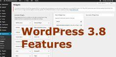 WordPress 3.8 Preview http://courtneyengle.com/2013/11/13/wordpress-3-8-preview/ via @Courtney Robertson